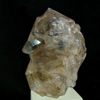 Quartz Var Enhydro With Hydrocarbon Inclusions