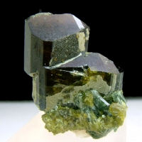 Epidote With Andradite & Diopside