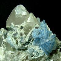 Fluorapatite With Elbaite Muscovite & Quartz