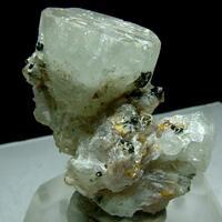 Fluornatromicrolite With Topaz