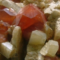 Hessonite With Diopside