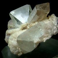 Topaz With Elbaite Lepidolite & Quartz