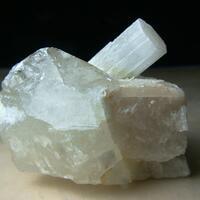 Beryllonite With Quartz