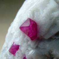 Corundum Var Ruby With Pyrite