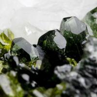 Diopside Andradite Epidote Clinochlore & Calcite