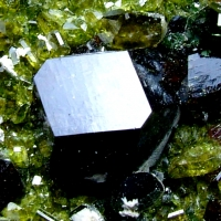 Andradite With Diopside & Epidote