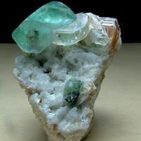 Fluorite With Topaz & Phlogopite