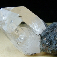 Triplite With Quartz