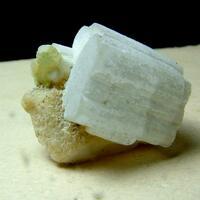 Beryllonite With Tourmaline