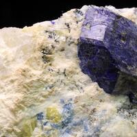 Sodalite With Sulphur