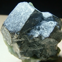 Magnetite With Peridot