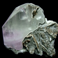 Kunzite With Calcite