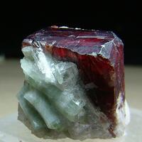 Tantalite-(Mn) With Elbaite