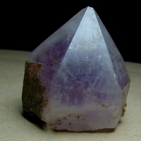 Amethyst With Chlorite Inclusions