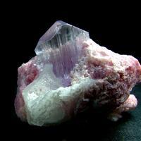 Kunzite With Quartz & Lepidolite