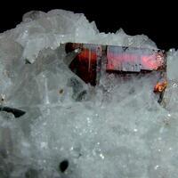 Tantalite-(Mn) With Cleavelandite