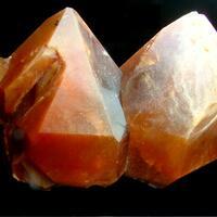 Quartz With Astrophyllite Inclusions