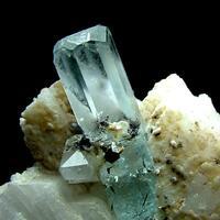 Aquamarine With Microlite