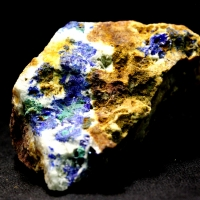Linarite With Caledonite