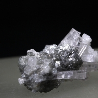 Achroite With Magnetite
