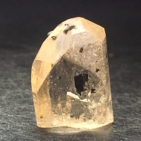 Topaz With Tourmaline