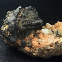 Hollandite With Quartz