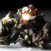 Spessartine With Vesuvianite