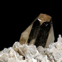Topaz With Microlite