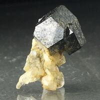 Melanite With Albite