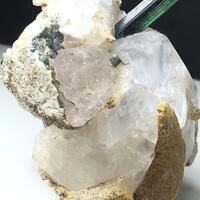 Pollucite With Petalite & Tourmaline