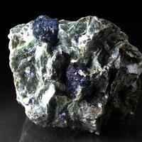 Dravite Uvite Tourmaline With Sapphire