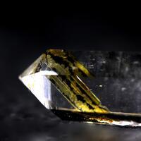 Quartz With Brookite & Chlorite Inclusions