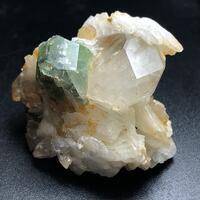 Goshenite With Fluorapatite Microlite & Quartz