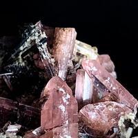 Väyrynenite With Microcline & Topaz