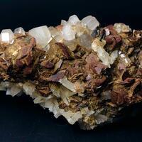 Apatite With Siderite Natrolite & Rutile