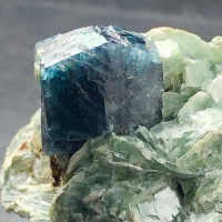 Dravite With Mica & Sapphire