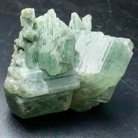 Albite With Byssolite Inclusions
