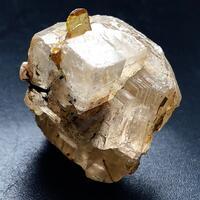 Titanite With Calcite