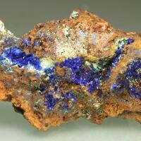 Azurite Olivenite & Agardite