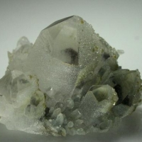 Quartz Rhodochrosite Pyrite Hematite & Chlorite