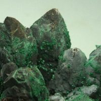 Limonite Psm Calcite With Malachite