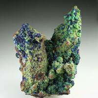 Azurite Malachite Hematite & Quartz