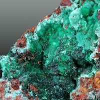 Malachite With Adamite