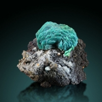 Chrysocolla Psm Malachite Psm Azurite With Wulfenite