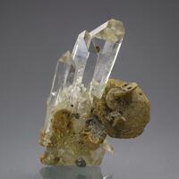 Quartz & Siderite With Arsenopyrite & Chalcopyrite