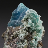Katerinopoulosite With Gypsum