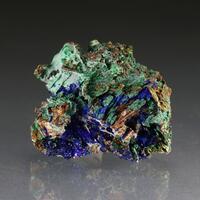 Azurite Psm & Malachite Psm Gypsum