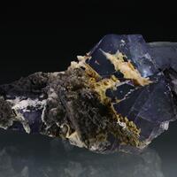 Fluorite With Smithsonite