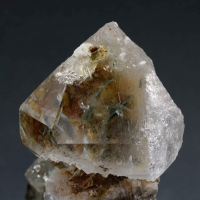 Quartz On Albite