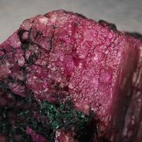 Cobaltoan Dolomite With Malachite